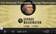 Celebrate George Washington's birthday (Feb. 22) with these educational videos and activities for your classroom. #PresidentsDay #socialstudies #history #FoundingFathers