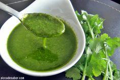 Aderezo de cilantro y jalapeño