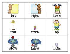 Opposites - Preschool: Opposites Concentration