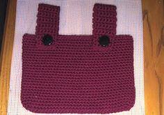 walker bag, crochet bag