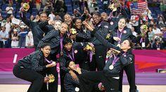 U.S. Women's Basketball Team wins Gold