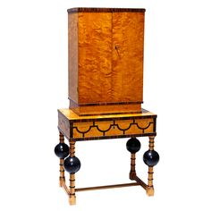 Modern Classicism cabinet on stand attributed to Axel Einar Hjorth