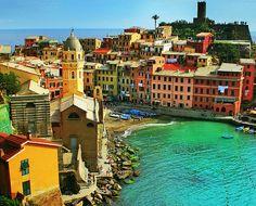 Cinque Terre, Italy     Cinque Terre, Italy