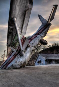 Plane Crash by Keith Mitchell