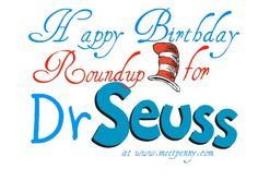 Great ideas for celebrating Dr. Seuss's birthday on March 2nd