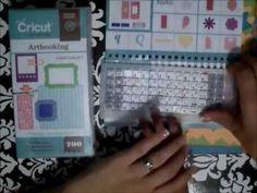 How To Make a Mini Album using the Artbooking Cricut Cartridge - YouTube