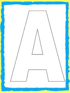 ABC Song and Alphabet Letter Templates for Kids!