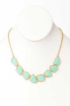 gold + turquoise = <3