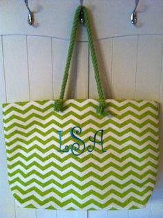 Chevron Jute Tote  with Linen Lining  Trendy by AWomansWishList, $30.00
