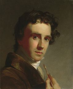 Portrait of the Artist, 1821, by  Thomas Sully (American, 1783–1872)