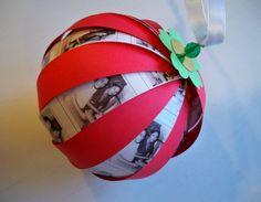 Christmas Paper Ball