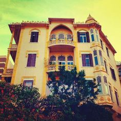 Old building in Beirut . Lebanon
