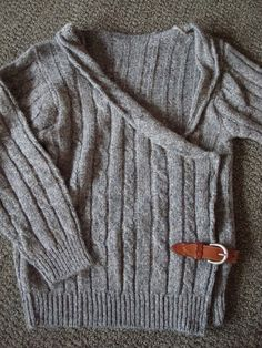 cool idea for re-doing an old sweater. If only I had an old sweater...