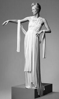Tilda Swinton as a real #Greek #goddess