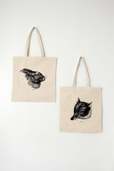 Fox & Hare Tote Bag via LAWRENCE