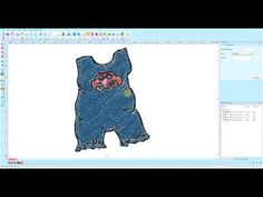 ▶ Editing an Embroidery Design in Floriani Software - YouTube