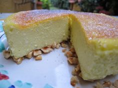 ricotta cheesecake with olive oil!