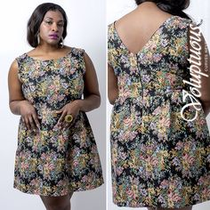 Plus size fashions from our Spring 2014 Collection! Buy this and other great outfits on our website at: voluptuousclothing.com