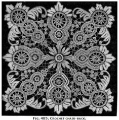 Free Antique Crochet Pattern - can you imagine!