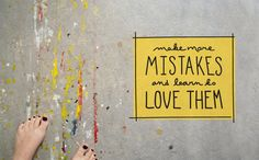 Beautiful Mistakes  |  The Fresh Exchange
