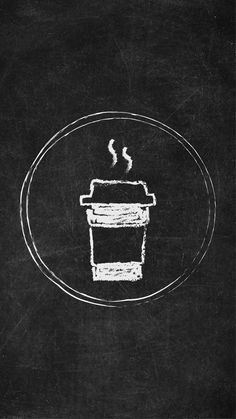 Free Chalkboard Instagram Story Highlight Covers - Coffee Cup  Try out a new look for your Instagram Stories with these unique Chalkboard Icons!  #Instagram #Instagramstory #chalkboard #instagramhighlights