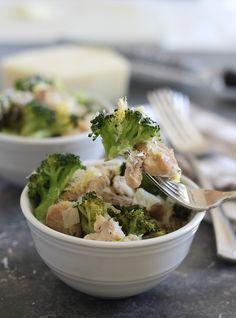 Parmesan lemon chicken & broccoli