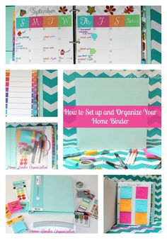 How to Organize a Home Management Binder- with FREE Printables -