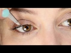 Lisa Eldridge - How To Apply Individual False Eyelashes. For more tips and a list of products visit my website at  http://www.lisaeldridge.com/video/1961/individual-fake-eyelashes/ #Makeup #Beauty #Tutorial #Bridal