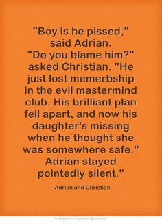 Vampire Academy Quotes...