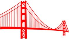 Golden Gate Bridge Drawing Clip Art Golden Gate Bridge Logo