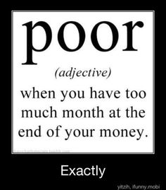 Definition of poor