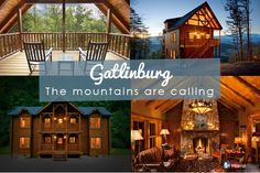 Plan your perfect mountain getaway in Gatlinburg! Homes and cabins for every family or group from #HomeAway!