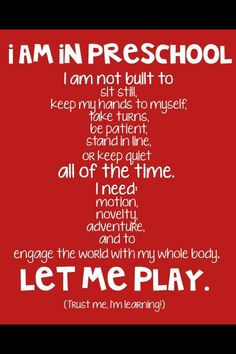i LOVE this! it can be stressful teaching 11+ Preschoolers all at once, but this is something i need to remember more :)