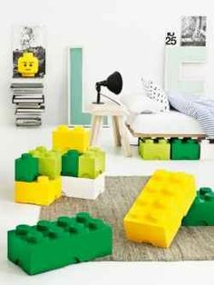 Some good ideas for a Lego bedroom
