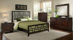 Parkview II Bedroom Collection - Value City Furniture-Queen Bed $399.99