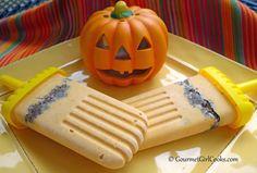 Gourmet Girl Cooks: Pumpkin Pie-sicles w/ Cinnamon Pecan Crust