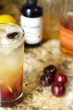 Cherry Bourbon Lemonade
