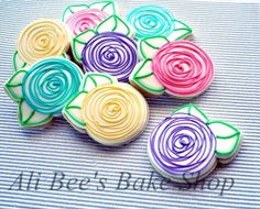 Ali Bee's Bake Shop: Tutorial: Cutting Roses