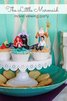 Awesome The Little Mermaid party ideas! Disney Princess #DisneyPrincessPlay #shop #cbias