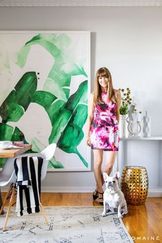 Exclusive: Tour Margo & Me's Chic Hollywood Home via @domainehome