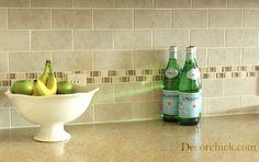 Kitchen Subway Tile - DIY Project