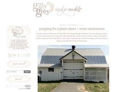 $110 - custom blog design - banner and background