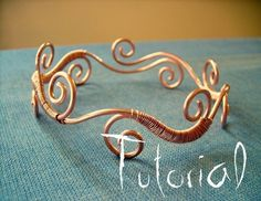 wire jewelry, jewelry necklaces, wire rings, copper, tribal tattoos, wire howto, wire tutorials, jewelri, wire bracelets