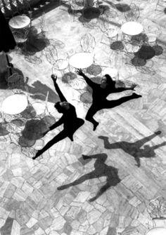 Mario De Biasi. Ballet, Rimini, 1953