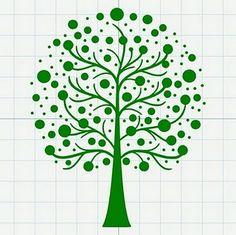 Neat tree- free svg