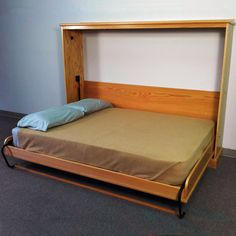 Deluxe Murphy Bed Kits, Side Mount - Rockler.com Woodworking Tools guest bedrooms, murphy beds, bed kit, murphi bed, extra bedroom