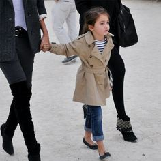 I love Parisian style.  Can she be my daughter?