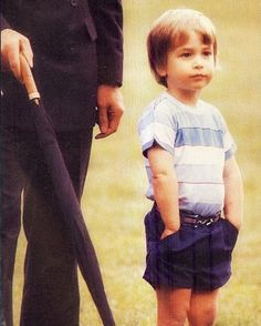 Prince William as a child--So like George here