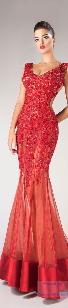 Glamour Gowns...Hanna Toumajean Fall-winter 2014-2015
