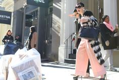 The Best Street Style of Fashion Week Fall 2014 - Vogue